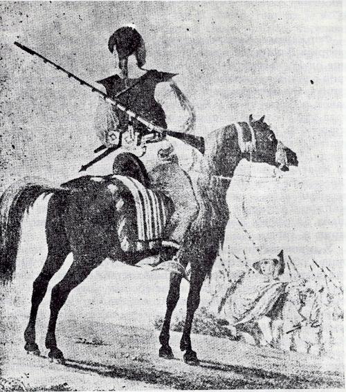 Граичар коњаник у Аустроугарској 1700-1800