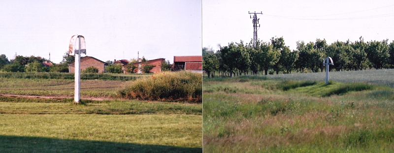 Слика лево је улаз од Томашевца, слика десно је улаз од Б. Деспотовца