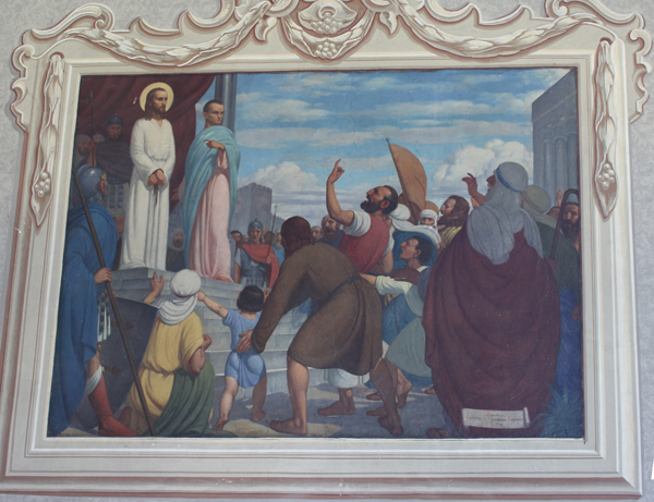 Христос пред Пилатом