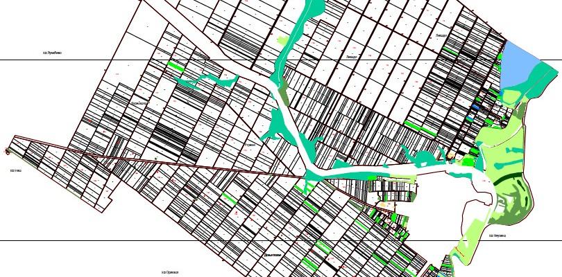 Предлога плана расподела комасационе масе ванграђевинског реона у К. О. Ботош
